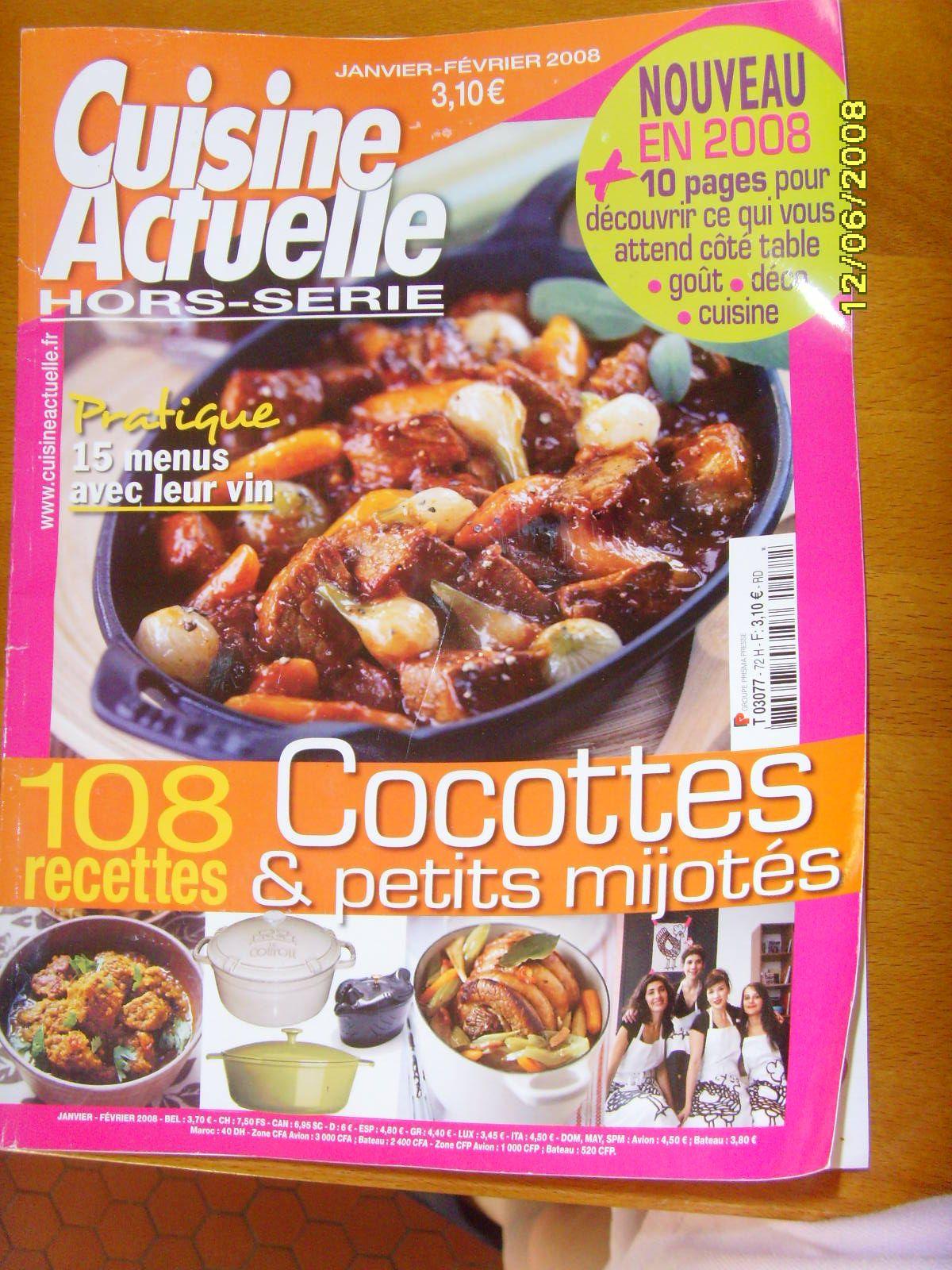 Cuisine actuelle cuisine actuelle novembre 2013 no 275 for Abonnement cuisine actuelle