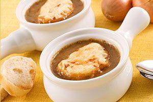 Soupe l 39 oignon gratin e supertoinette - Soupe a l oignon gratinee ...